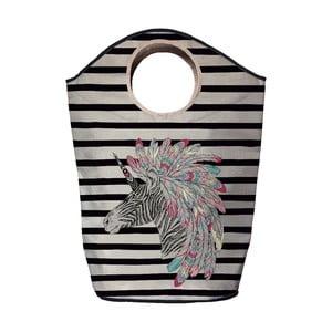 Kosz na bieliznę Butter Kings Indian Zebra