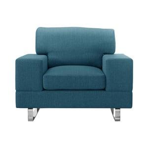 Niebieski fotel Corinne Cobson Dahlia