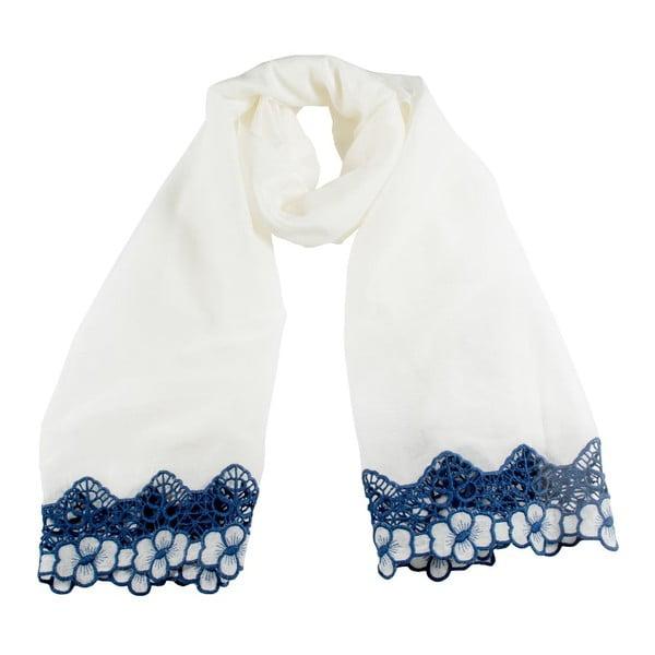 Chusta Florentine White/Blue