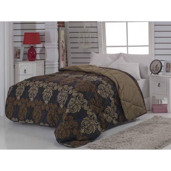 Pikowana narzuta na łóżko dwuosobowe Olga, 195x215 cm