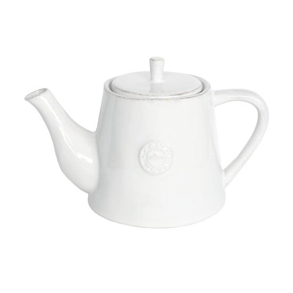 Biały ceramiczny dzbanek do herbaty Ego Dekor Nova,1,07l