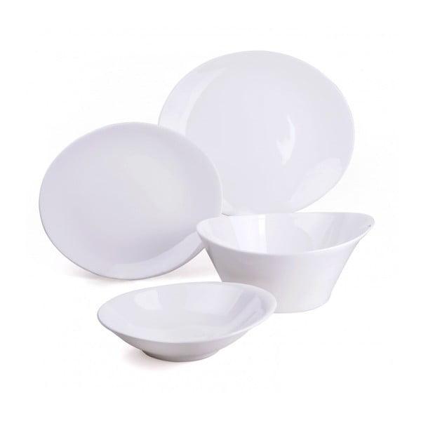 Porcelanowy zestaw talerzy i misek, 15 szt.