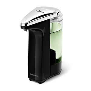 Bezdotykowy dozownik do mydła Lisa, czarny