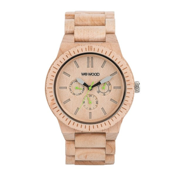 Drewniany zegarek Kappa Beige