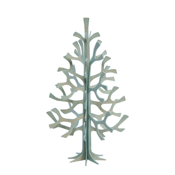 Składana pocztówka Lovi Spruce Light Blue, 12 cm