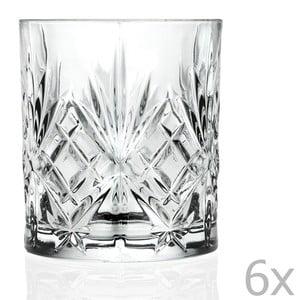Zestaw 6  szklanek z kryształowego szkła Côté Table Amedea, 310ml
