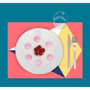 Mata stołowa / blok kolorowanek Colors, 24 sztuki