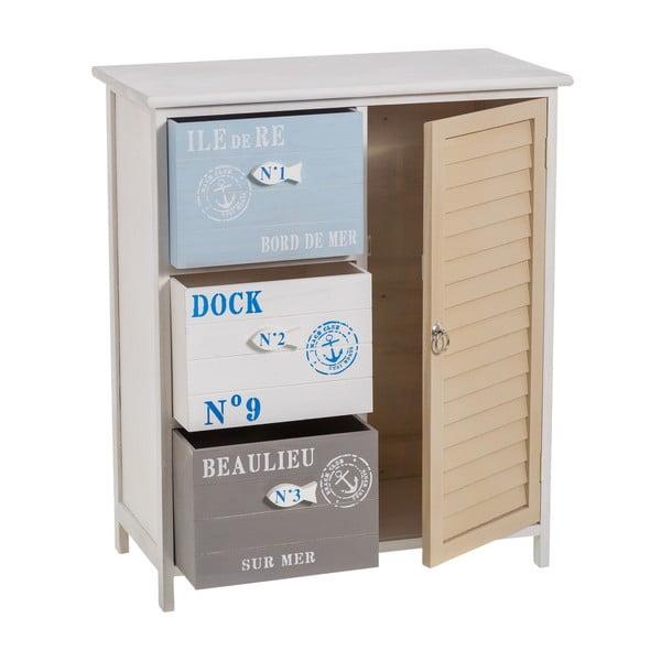 Komoda z szufladami Dock, 62x73 cm