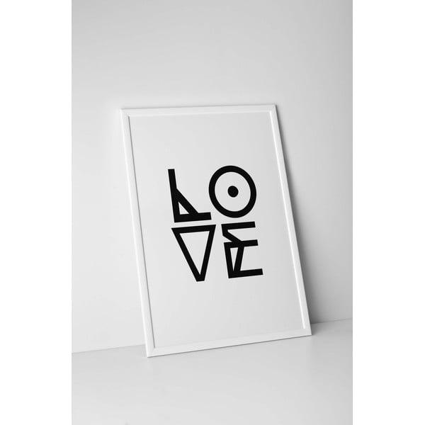 Plakat autorski Graphic Love, A3
