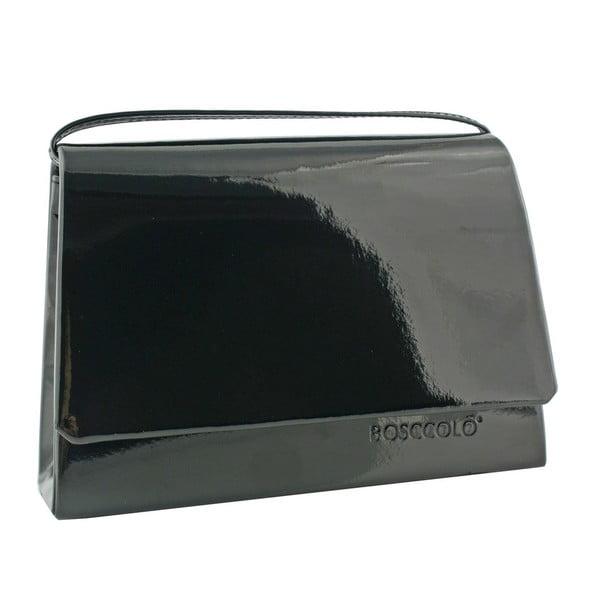 Skórzana kopertówka Boscollo Black 3154