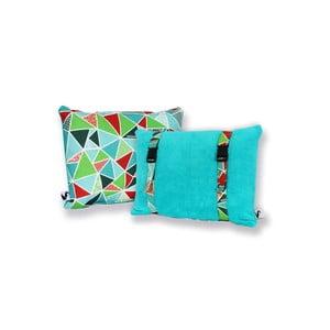 Wodoodporna dwustronna poduszka Dream Pillow Water Geo