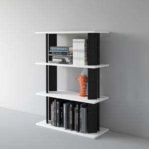 Biblioteczka Replay 112x80 cm, czarna