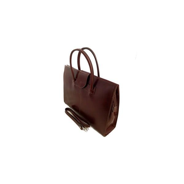 Skórzana torba Montefalco, czekoladowa