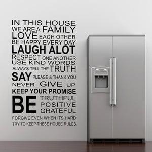 Naklejka ścienna About Family, 60x90 cm