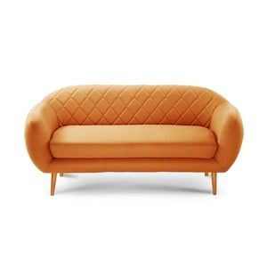 Sofa trzyosobowa Diva Criss Cross Orange