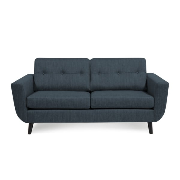 Ciemnoniebieska sofa 2-osobowa Vivonita Harlem