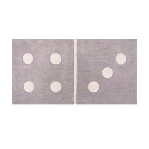 Dywan dziecięcy Domino Gris, 60x120 cm
