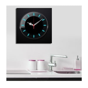 Obraz z zegarem Jaskrawy