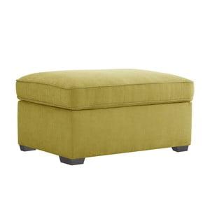 Żółty puf Jalouse Maison Serena