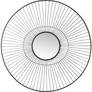 Lustro ścienne Kare Design Filo, Ø 77 cm