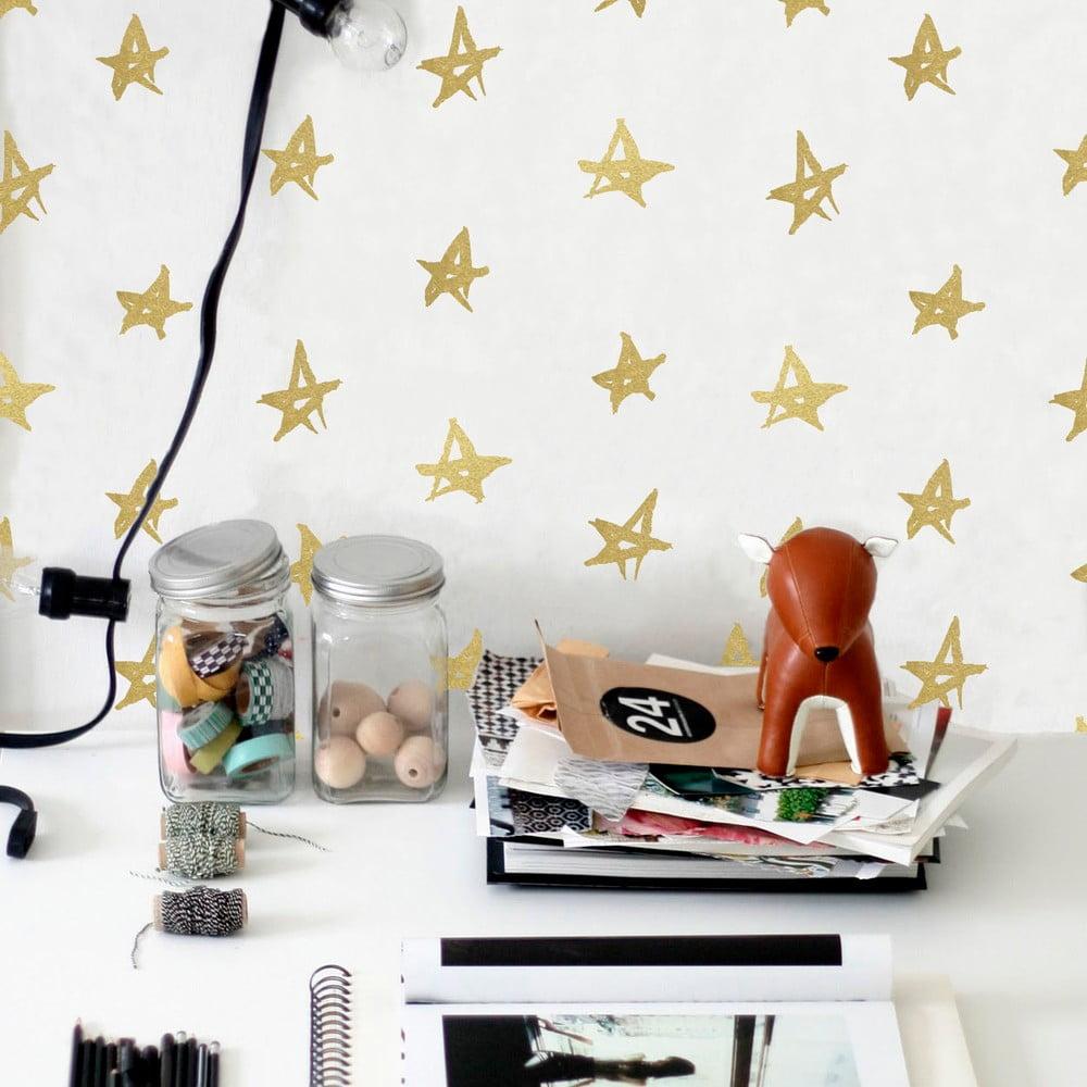 winylowa naklejka na cian little nice things playroom stars bonami. Black Bedroom Furniture Sets. Home Design Ideas