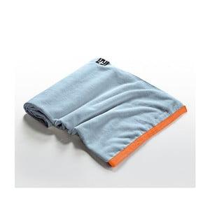 Ręcznik plażowy Agi Moe 80x160 cm, niebieski
