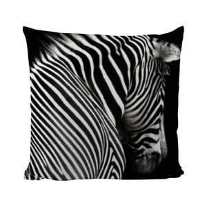 Poduszka Black Shake Zebra Stripes, 50x50 cm