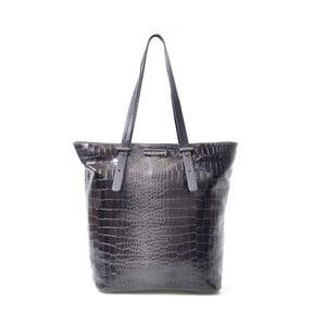 Skórzana torebka Irene, czarna