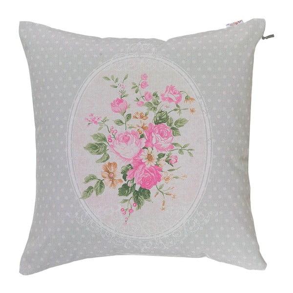 Poduszka z wypełnieniem Roses in Pink