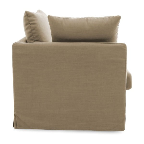 Beżowa sofa trzyosobowa Vivonita Coraly
