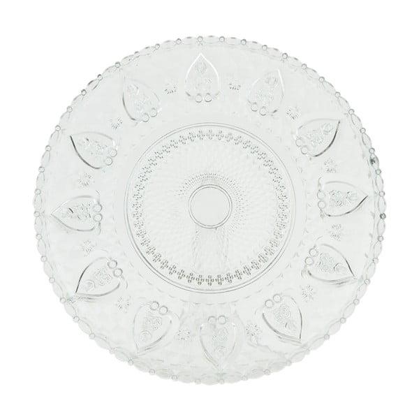 Szklany talerz Clayre Decor, 30 cm