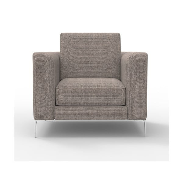 Fotel Miura Musa, pokrycie piaskowobrązowe, tkanina