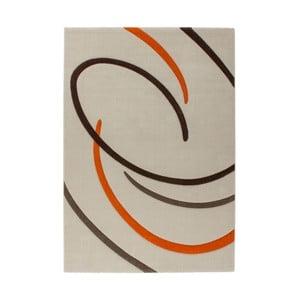Dywan Melusine 444 Ivory/Orange, 120x170 cm