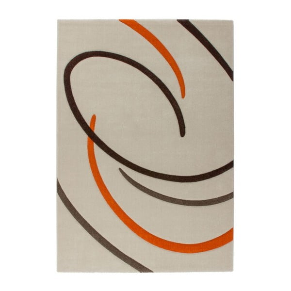 Dywan Melusine 444 Ivory/Orange, 120x170 cm