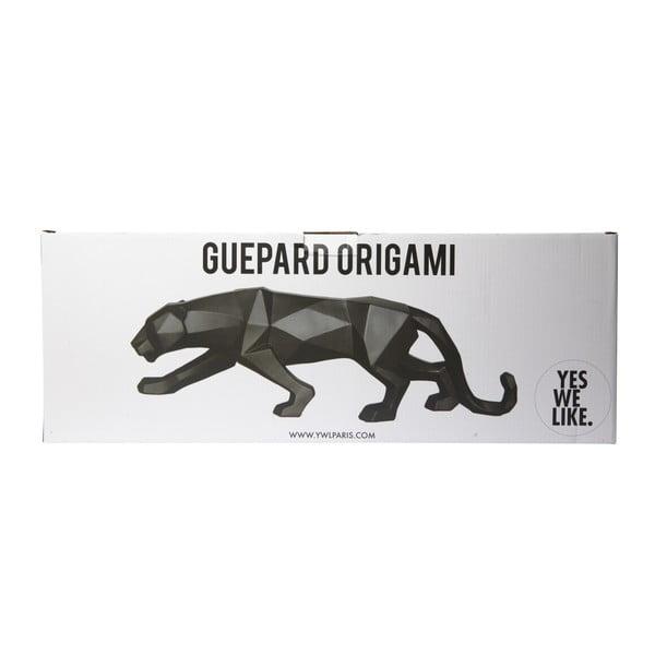 Czarna figurka dekoracyjna YWL Guepard