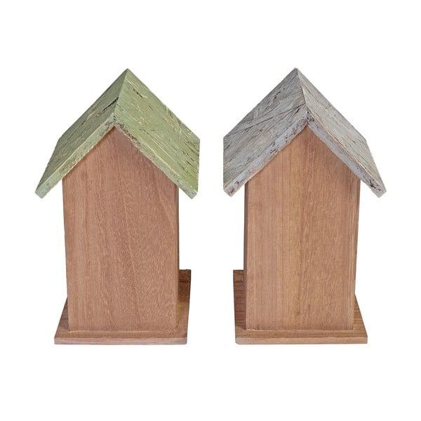Zestaw 2 dekoracyjnych budek dla ptaków Mendler Shabby Celje