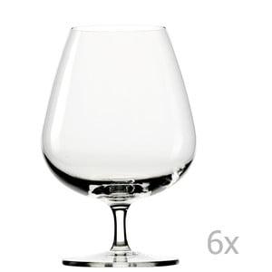 Zestaw 6 kieliszków Lausitz Grandezza Brandy, 610 ml