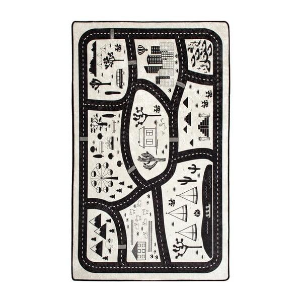 Dywan dla dzieci Black City, 140x190 cm