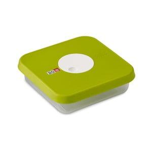 Zielony pojemnik na żywność z regulacją daty Joseph Joseph Dial, 0,9L