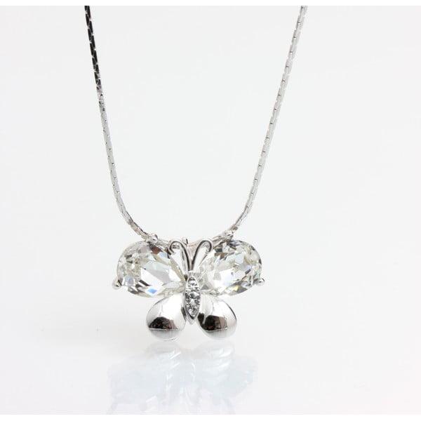 Naszyjnik Laura Bruni ze Swarovski Elements Crystal Butterfly