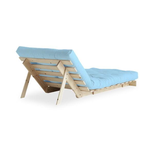 Fotel rozkładany Karup Roots Raw/Celeste