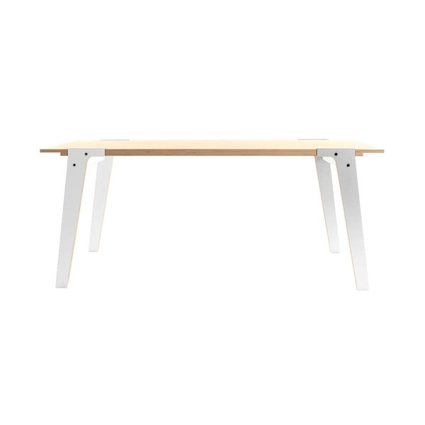 Biały stół/biurko rform Switch, blat 180x78 cm