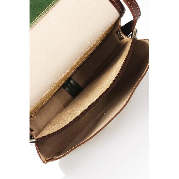 Skórzana torebka Shray, zelená