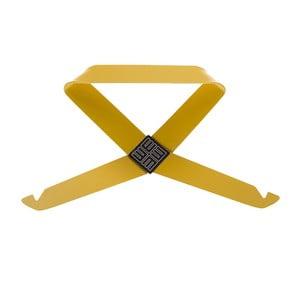 Żółty wieszak ścienny MEME Design Fiocco