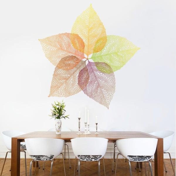 Naklejka na ścianę Jesienne liście, 90x120 cm