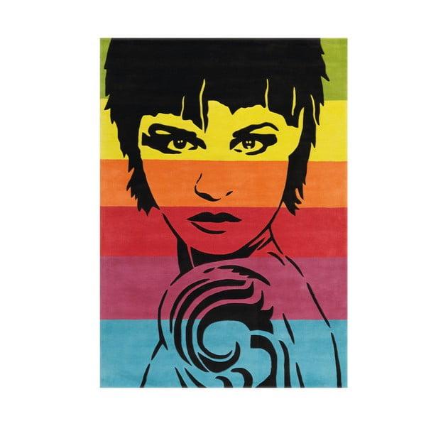 Ręcznie tkany dywan Joy Face, 140x200 cm