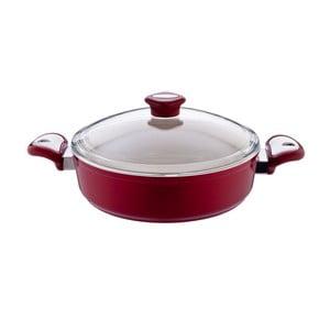 Garnek Lux Shallow Red, 5,5 l