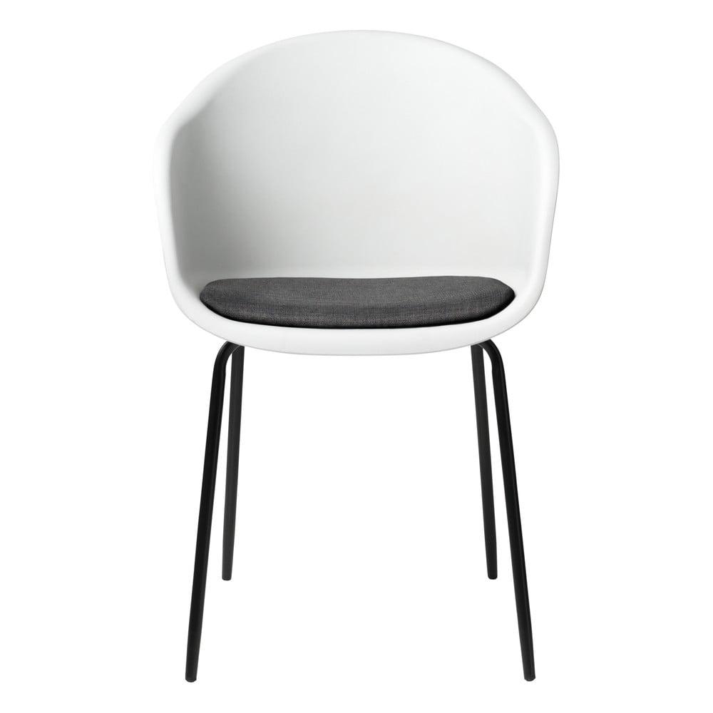 Białe krzesło Unique Furniture Topley