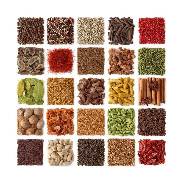 Szklany obraz Spices Of Paradise, 30x30 cm