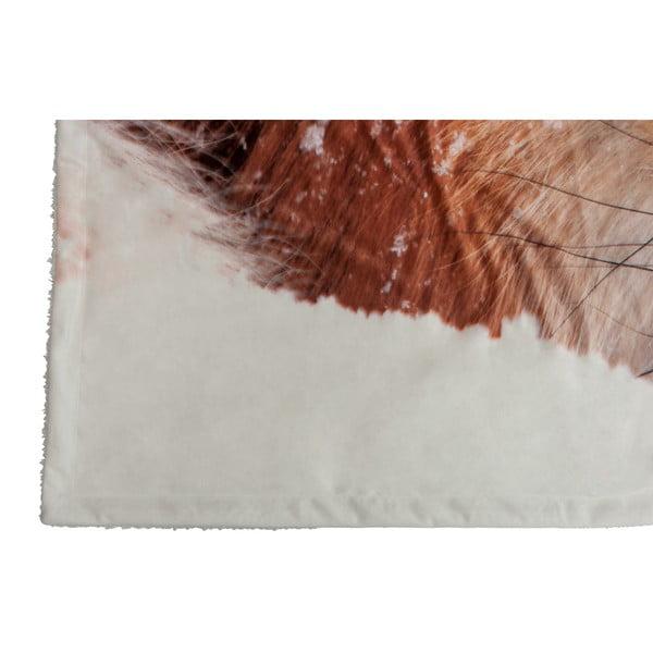 Pled J-Line Fox Velvet, 140x160 cm